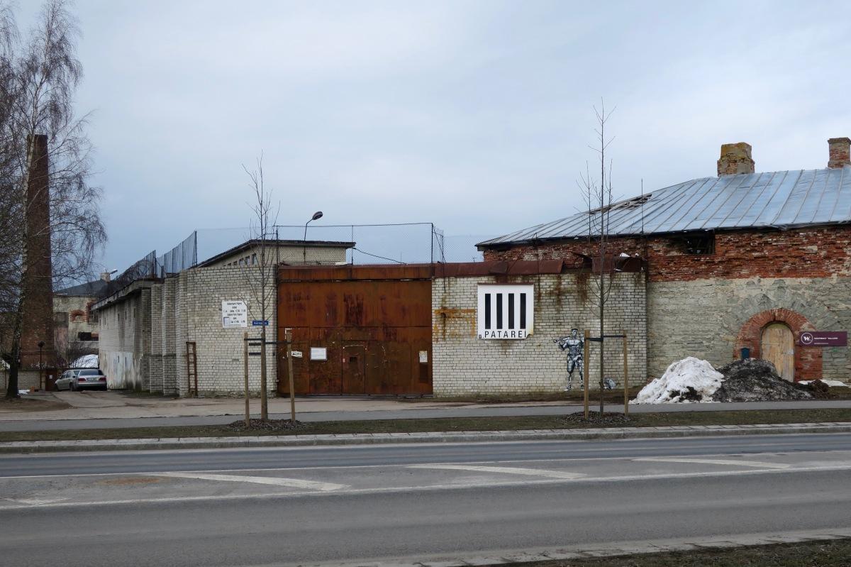 The abandoned Patarei Prison, Tallinn